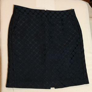BR navy blue skirt